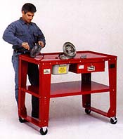 Tear Down Table Citation Cleaning Equipment